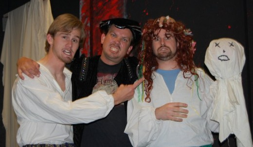 """The Compleate Works of William Shakespeare (Abridged)"" kicked off the 2010 season."