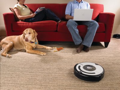 Spend even more time on your computer thanks to the iRoomba.