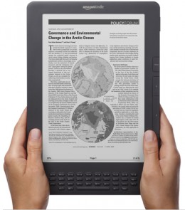 Kindle DX Wireless Reading Device 3G | image source: Amazon.com