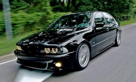 The beautiful BMW 5 series