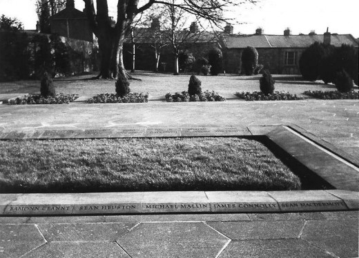 Arbour Hill where Edward Daly is buried