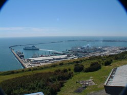 Hotels near the Ferry Terminal in Dover England U.K.