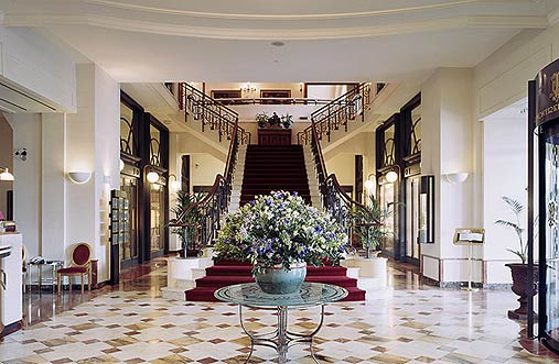 Elegance and splendor await at the Montreux Palace.