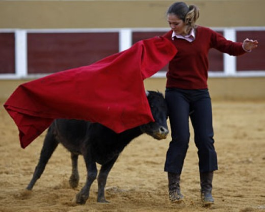 Bull fighting in Portugal  courtesy Google Images - blogs.reuters.com
