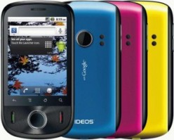 Huawei IDEOS U8150, entry level smart phone with Android 2.2 Froyo