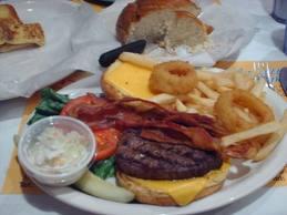 Atlanta Georgia Area-Marietta Diner- Burger Platter