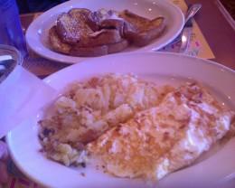 Feta Omelet at Marietta Diner-unique good eats around Atlanta Georgia
