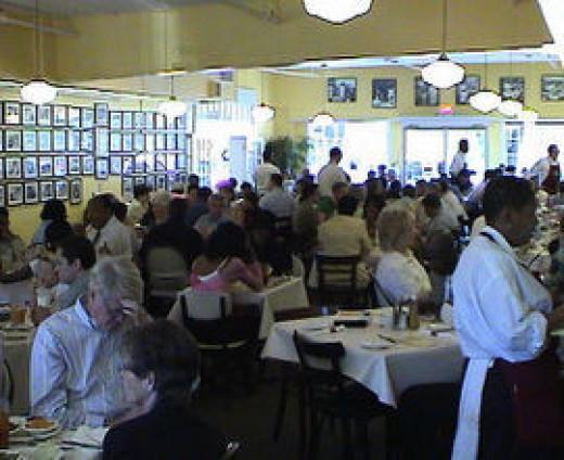 Inside Mary Mac's Tea Room Atlanta Georgia