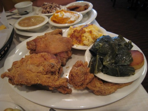 Southern Cooking Mary Mac's Tea Room Atlanta Georgia
