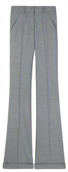 Featured as a fashion week 'must have'by Style.com. Flair pants from Miu Miu.