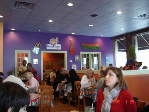 Inside The Flying Biscuit Cafe Atlanta Georgia