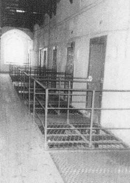 Cells in Kilmainham Jail were the men were held before execution