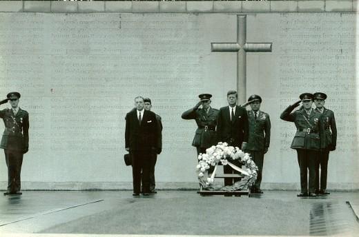 JFK in 1963 in Dublin Ireland