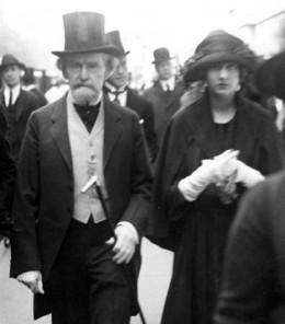 William Clark and daughter Huguette