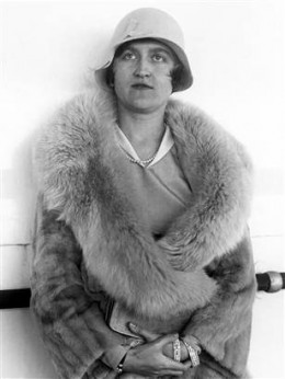 Last picture taken of Huguette circa 1930