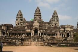The East Gate at Angkor Wat