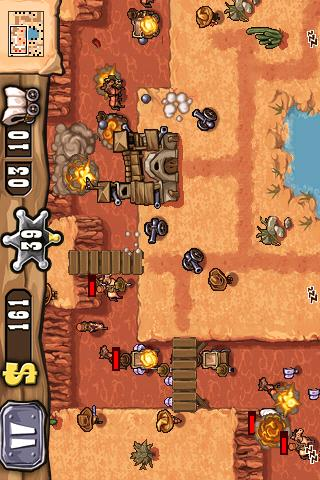 Guns n' Glory, screenshot from Appbrain