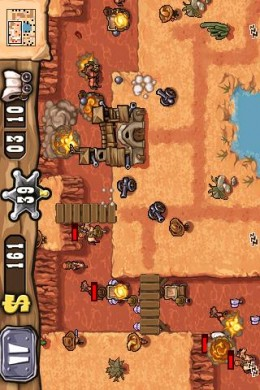Guns n' Glory, screenshot from Appbrain