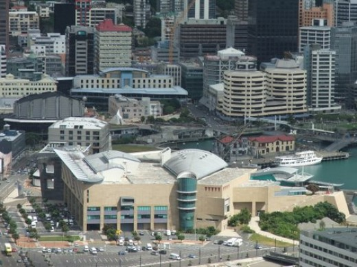Te Papa - a great place to survive a Wellington earthquake