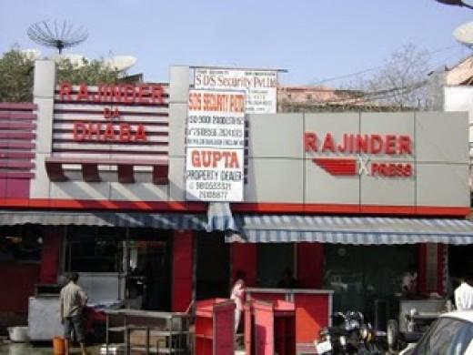 Rajinder da Dhaba in near Bhikaji Kama Place New Delhi