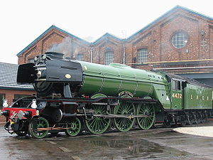 The Flying Scotsman in LNER livery