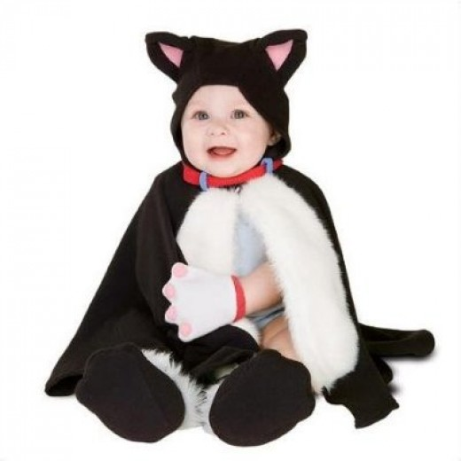 Lil' Kitty Kat Newborn Cat Costume
