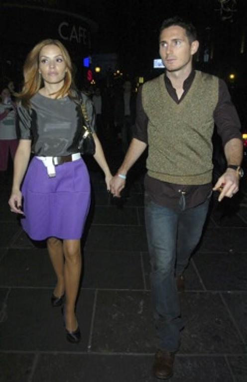 Elen Rives and Frank Lampard