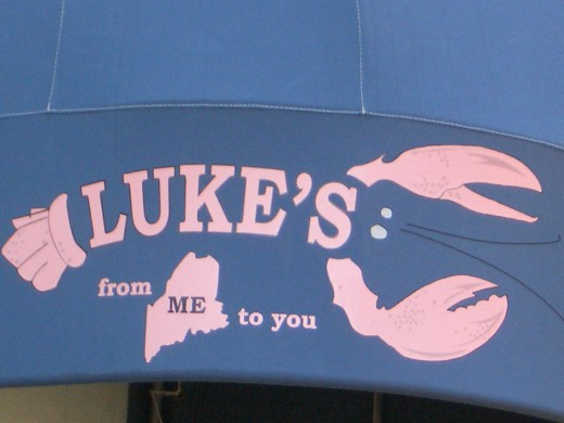 Luke's Lobster Restaurant on Upper East Side New York