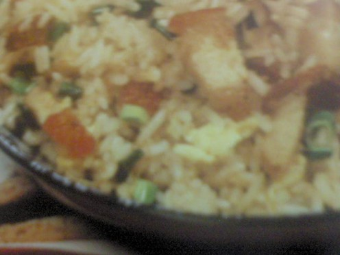 Roast Pork Belly Fried Rice from Famous Cuisine Magazine