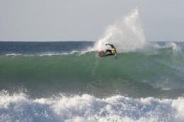 Surfing in the region around Kailua-Kona.