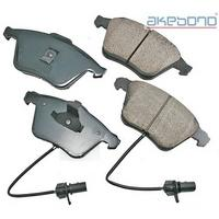 Akebono Brake Pads, built exclusively for the Volvo