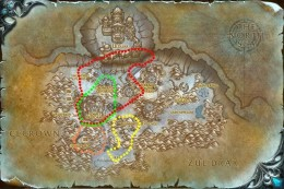 Time-Lost Proto Drake Flight Paths