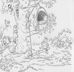 Cats Antics Free-Kids Coloring Pages Colouring Pictures to Print