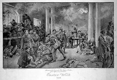 Inside GPO Easter Rising