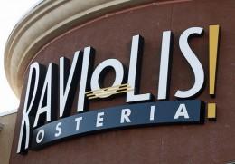 Raviolis new location but same delicious flavor.