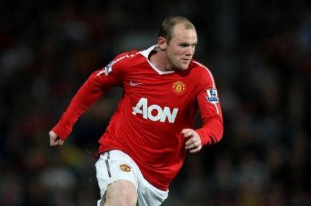 Wayne Rooney Manchester Ubited Striker