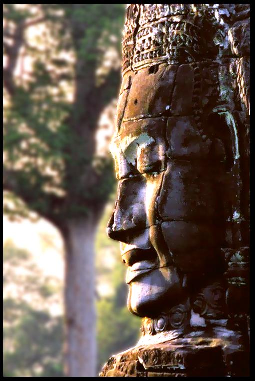 Face of Avalokiteshvara (Jayavarman VII)
