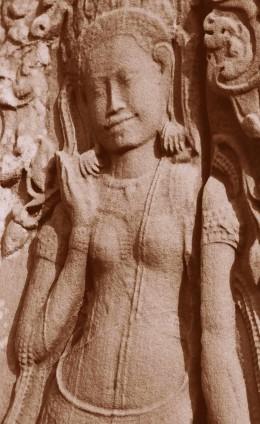 Apsara Bas-Relief