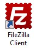 Diagram 1. The FileZilla desktop icon