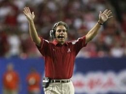 Nick Saban, Head Football Coach of the Alabama Crimson Tide