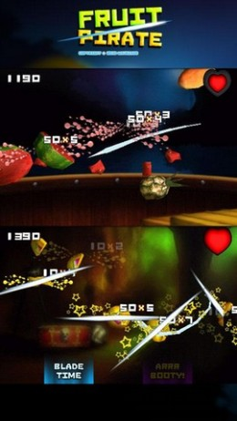 Fruit Pirate, screenshot from AppBrain