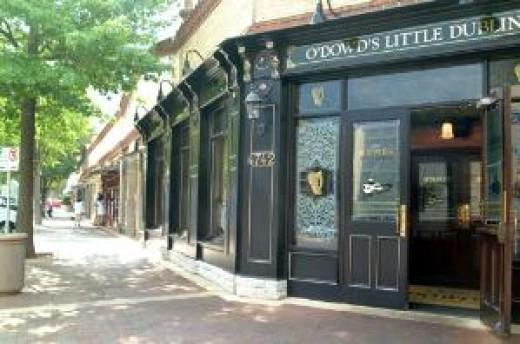 Pub in Plaza square
