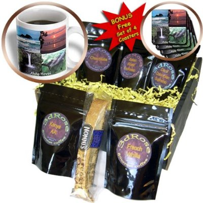 One of many gourmet coffee gift packages located on Amazon. Find the link for this below. Type in Sandy Mertens on Amazon to find many more customized gifts.