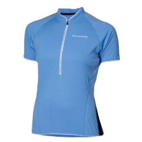Some of the best mountain bike clothing. A Cannondale short sleeved ladies top an essential mountain bike accessory.