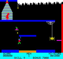 Zorgons Revenge was a popular game on the Oric Atmos