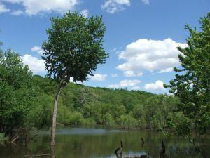 The Des Moise River in Iowa. (Sxc.hu/user:asadchev)