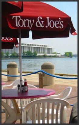 View from Tony & Joe's  photo copyright Tony & Joe's