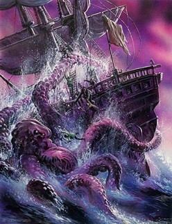 The realm of the Kraken - Mythical or Real