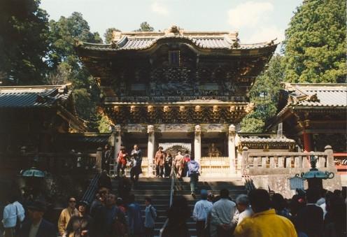 The Yomeimon Gate, Toshogu Shrine.