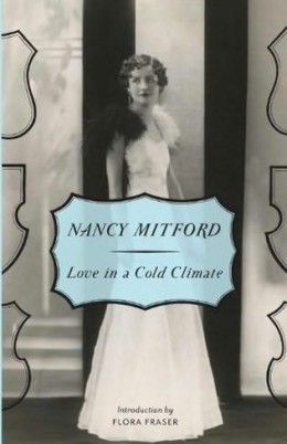 Nancy Mitford was the model for her own book covers.